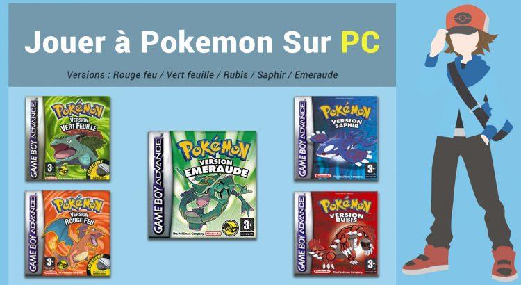 Jouer à Pokemon sur ordinateur