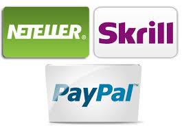 Paypal Skrill et Neteller