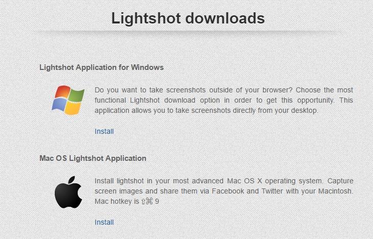 Télécharger Lightshot